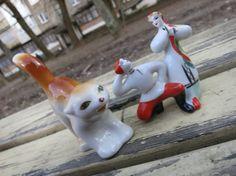 $15,90 Vintage soviet porcelain figurine Porcelain от AllForHappyAndLoveV