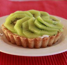 Tartaletas de Kiwi con Mousse de Limón