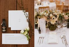 """""""Instead of a guest book, each table had blank cards with envelopes marked with the same number as the table, for our guests to write messages on. The idea is that we will open each numbered envelope on the corresponding wedding anniversary so we can keep reliving our night for over a decade!"""""""