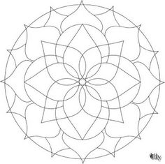Professoras Online: Mandalas Flores - Primavera - colorir ou pintar