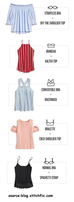 Fashion infographic & data visualisation Fashion infographic : Stylist-Recommended Perfect Bra For Tricky Summer Tops Best Strapless Bra, Strapless Tops, Fashion Infographic, Pretty Bras, Bra Types, Summer Tops, How To Look Pretty, Fashion Beauty, Stylists