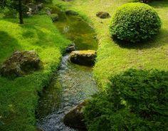 amenager un petit cours d'eau: créer un ruisseau au jardin
