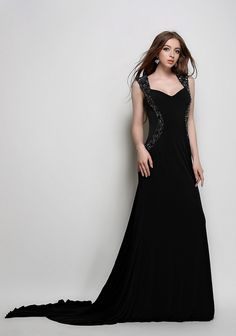 http://dresslinn.com/black-jersey-full-length-evening-gown-formal-gown.html