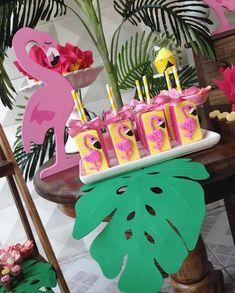 Créditos: @becatelie Ideias Criativas para Festa Flamingo