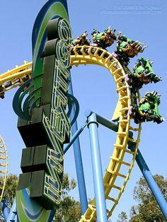 roller coasters At California Great America | Invertigo Roller Coaster at California's Great America