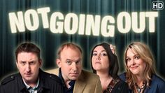 Lee Mack, Tim Vine, Katy Wix, and Sally Bretton in 'Not Going Out' I loved the episode where they went camping