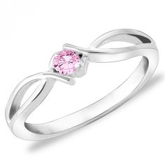 Silver colour and attractive Pink colour American diamond finger ring. Diamond Finger Ring, Ring Finger, Silver Color, Pink Color, Colour, Pink Ring, Party Wear, Blush Pink, Heart Ring