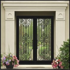 Our front door gallery displays the many ways our doors can change the look of your home. View these front door design photos at Modern Steel Doors!