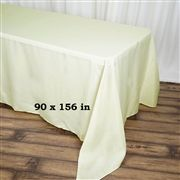 90 x 156 inch White Polyester Rectangular Tablecloth Checkered Tablecloth, Tablecloth Sizes, Linen Tablecloth, Table Linens, Wedding Tablecloths, Wedding Linens, Lace Tablecloths, Chair Covers