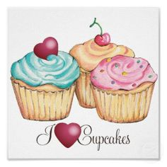 Cupcake kitchen decor on pinterest cupcake cookie jar for Cupcake themed kitchen ideas