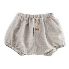 Ivonne Buttoned Bloomers Heather grey 1+ IN THE FAMILY