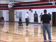 Basketball Practice - Awesome Chair Shooting Drill