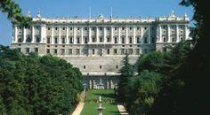 Palacio Real de Madrid. Vista desde los Jardines del Moro.