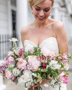 Lightest pinks whites and a few dots of purple.  @robertafacchiniphotography