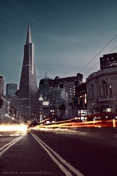 San Francisco by Ibrahim  Alnassar - I wanna go to the stinking rose again.  someday.