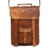 wild-real-natural-leather-messenger-satchel-sling-unisex-handmade-retro-bag