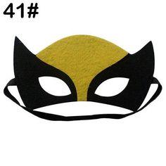 New Fashion Kids Mask Boy Cosplay Superhero Star Costume Party Xmas Masks Girls Halloween Eyes, Cute Halloween Costumes, Halloween Cosplay, Adult Costumes, Party Costumes, Halloween Christmas, Superhero Cartoon, Baby Superhero, Superhero Characters