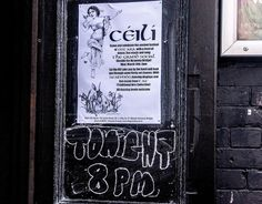 In modern usage, a céilidh or ceilidh  is a traditional Gaelic social gathering, which usually involves playing Gaelic folk music and dancing. It originated in Ireland and Scotland, but is now common throughout the Irish and Scottish diasporas. In Scottish Gaelic it is spelt cèilidh  and in Irish it is spelt céilí.