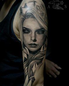 New Tattoo Arm Clock Quotes 60 Ideas Tattoo Sleeve Designs, Sleeve Tattoos, Arm Tattoo, Body Art Tattoos, Tatoos, Hippe Tattoos, Girl Face Tattoo, Face Tats, Persian Tattoo