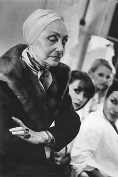 Madame Grès in 1978 designer couture