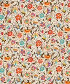 Liberty Art Fabrics Le Temps Viendra Tana Lawn Cotton | Fabric | Liberty.co.uk