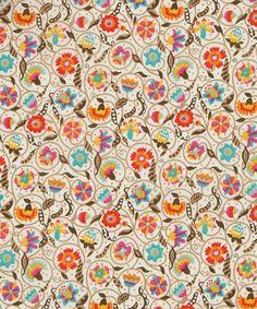 Liberty Art Fabrics Le Temps Viendra Tana Lawn Cotton | Fabric | Liberty.co.uk