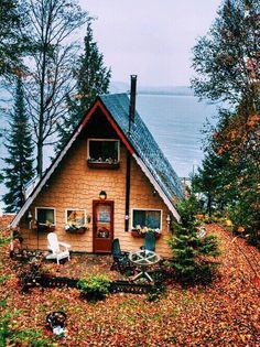 Image via We Heart It #autumn #cozy #fall #house #place #view