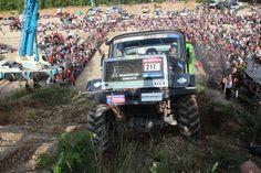 Europa Truck Trial in Montalieu: Hillclimb