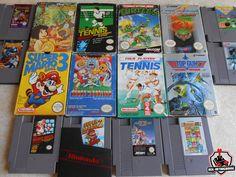 Arrivage de jeux Nintendo - NES