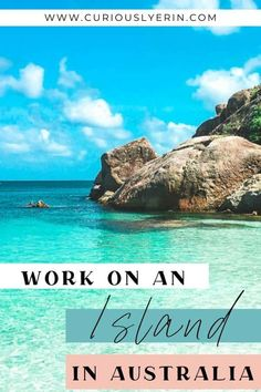 Here's how to find a job on an island on one of Australia's top islands. Find work quickly and easily. The guide includes a breakdown of all the best islands in Oz, where to find work, how to apply for jobs. Perfect for backpackers on the working holiday visa to Australia | Get paid to travel and work abroad #jobsabroad #workandtravel #whvaustralia Bruny Island, Stradbroke Island, Working Holiday Visa, Working Holidays, Jobs Australia, Australia Travel, Work Overseas, International Jobs, Hamilton Island