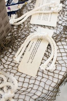 Wedding Favors Nautical Tie The Knots Ideas For 2019 Nautical Wedding Favors, Nautical Bridal Showers, Unique Wedding Favors, Wedding Party Favors, Wedding Catering, Wedding Decorations, Catering Menu, Wedding Advice, Wedding Pics