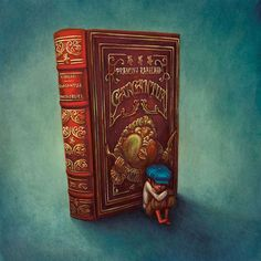 Dessin de Benjamin Lacombe (1982) illustrateur français. So many things to learn when you're a child...