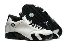 cdf3011ae1da27 Cheap Wholesale AirJordan 14 White Black Jordan Shoes For Men