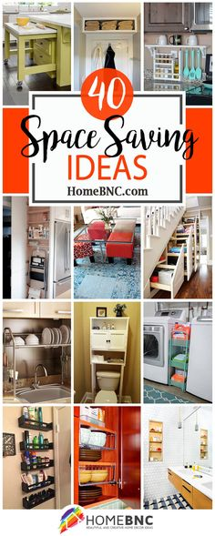 Ideas for living room storage ideas space saving small apartments Small Apartment Storage, Apartment Closet Organization, Small Closet Storage, Space Saving Storage, Living Room Storage, Small Apartments, Storage Spaces, Apartment Space Saving, Organization Ideas