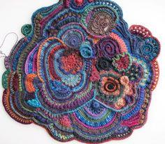 Aventures Textiles: Petite progression du scrumble