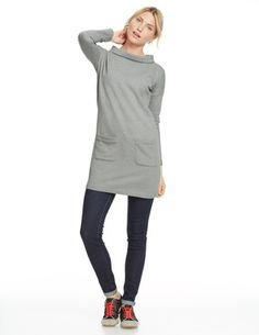 Sweatshirt Tunic: Super cute!!  Can be casual or dressed up a bit