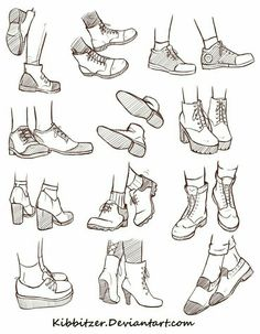 Shoes; How to Draw Manga/Anime