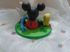 Mickey mouse house. cake topper  decoration  by NatuDesigns, $19.99