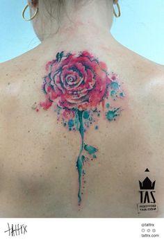 Rodrigo Tas Tattoo   São Paulo Brazil - Rose   tattrx