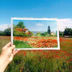 Inspiring paintings matching with landscape by Elena Efremova - ego-alterego.com