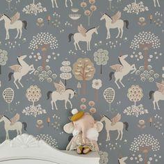 Tapet True Unicorns från Majvillan / miniroom.se