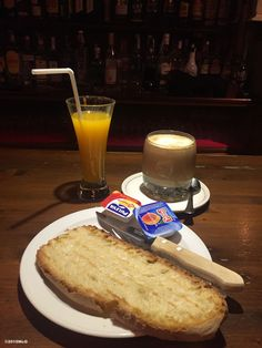 Typical camino breakfast (in Astorga) #Camino 2015 july McG - day 26
