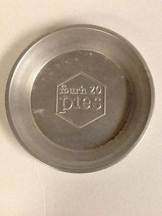 """Four 'n 20 Pies Vintage Pie Tin 8.75""""  Twenty Baking Pan #Fourn20pies"""