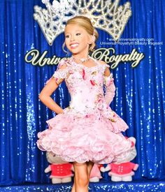 Take PRIDE in your Universal Royalty® Beauty Pageant® Title. universalroyalty.com #universalroyalty #toddlersandtiaras #glitzpageants #beautypageants #pageants #pageant