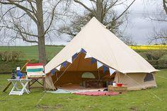 canvas bell tent by baker + bell | notonthehighstreet.com