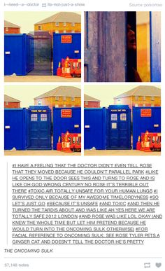 """When they got inside the Doctor's head.   21 Tumblr Posts That Prove """"Doctor Who"""" Has The Best Fans"""