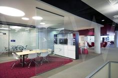 modern open office layout - Google Search
