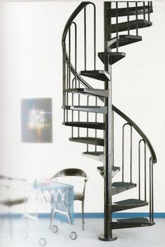 Small yet elegant, the Petite spiral staircase is our smallest spiral staircase for those really tight spaces. With diameters of 100cm upwards this spiral stair can solve a lot of problems for customers who are short on space. The spiral stair comes complete with non slip treads so ideal for any use in the home or office.