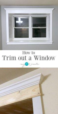 Window Molding Trim, Window Casing, Wall Trim, Moldings And Trim, Window Trims, Window Jamb, Wood Molding Trim, Crown Molding, Moulding