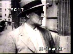 JAMES JOYCE IN PARIS 1920s STOCK FOOTAGE